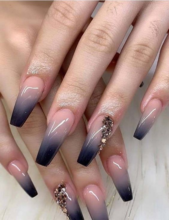 coffin nail design for your wedding day